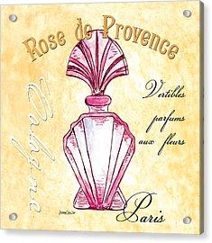 Rose De Provence Acrylic Print by Debbie DeWitt