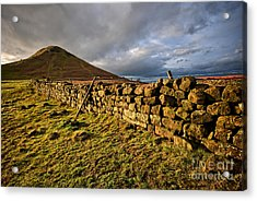 Roseberry Topping Acrylic Print by Stephen Smith