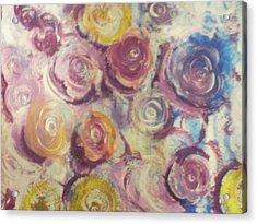 Rosie Acrylic Print by Jennifer Henson