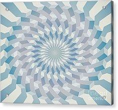 Round Pattern 170.4 Acrylic Print by Igor Kislev