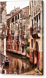 Round The Bend Acrylic Print by Greg Sharpe