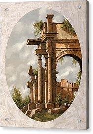 Rovine Romane Acrylic Print by Guido Borelli