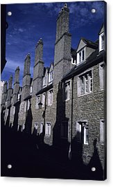 Row Houses Stand Huddled Together Acrylic Print by Taylor S. Kennedy