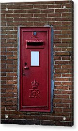 Royal Mail Acrylic Print by Joana Kruse