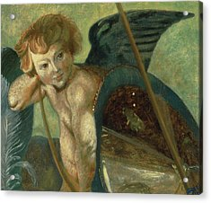 Ruben's Angel Acrylic Print by Shelley Irish