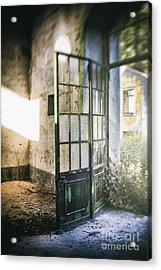 Ruined Door Acrylic Print by Carlos Caetano