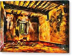 Ruined Room Acrylic Print by Milan Karadzic