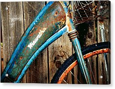 Rusted And Weathered Acrylic Print by Toni Hopper