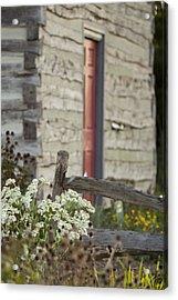 Rustic Home Acrylic Print by Andrea Kappler