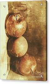 Rustic Old Apple Box Acrylic Print by Jorgo Photography - Wall Art Gallery