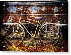 Rusty Ride Acrylic Print by Debra and Dave Vanderlaan