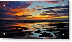 Rutted End To The Day Acrylic Print by John Pierpont