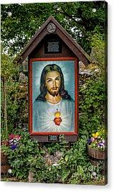 Sacred Heart Acrylic Print by Adrian Evans