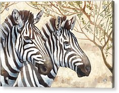 Safari Sunrise Acrylic Print by Mauro DeVereaux