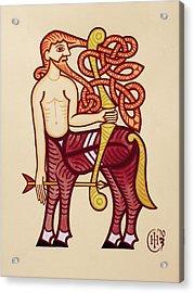 Sagittarius Acrylic Print by Ian Herriott