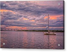 Sailing Acrylic Print by Donnie Smith