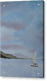 Sailing Acrylic Print by Liz Vernand
