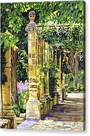 Saint-andre Abbey France Acrylic Print by David Lloyd Glover