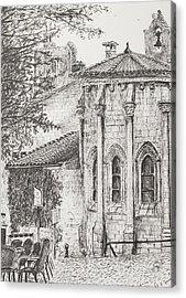 Saint-emilion Acrylic Print by Vincent Alexander Booth