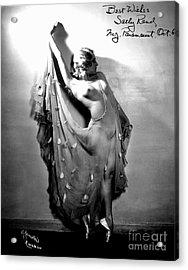 Sally Rand (1904-1979) Acrylic Print by Granger