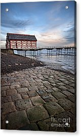 Saltburn By The Sea Acrylic Print by Stephen Smith
