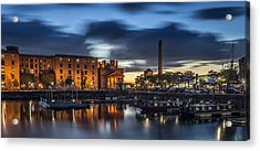 Salthouse Dock - Liverpool Acrylic Print by Paul Madden