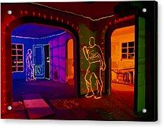 Salton Sea House Acrylic Print by Garry Gay
