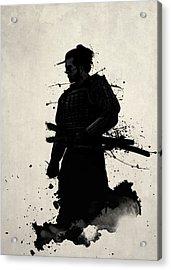 Samurai Acrylic Print by Nicklas Gustafsson