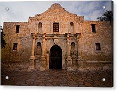 San Antonio Alamo At Sunrise Acrylic Print by Samuel Kessler