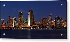 San Diego America's Finest City Acrylic Print by Larry Marshall