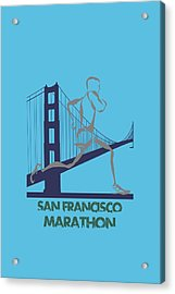 San Francisco Marathon2 Acrylic Print by Joe Hamilton