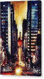 San Francisco Acrylic Print by Mo T