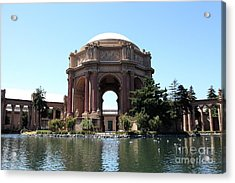 San Francisco Palace Of Fine Arts - 5d18107 Acrylic Print by Wingsdomain Art and Photography