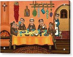 San Pascuals Table 2 Acrylic Print by Victoria De Almeida