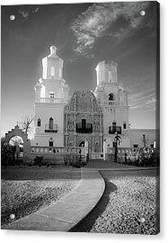 San Xavier Mission Acrylic Print by Jim Harris