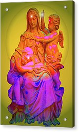 Sancta Maria No. 02 Acrylic Print by Ramon Labusch