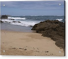 Sand And Surf San Juan Acrylic Print by Anna Villarreal Garbis