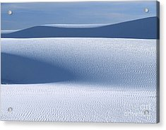 Sand Patterns Acrylic Print by Sandra Bronstein