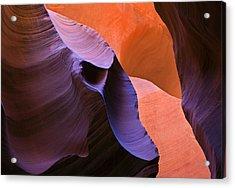 Sandstone Apparition Acrylic Print by Mike  Dawson