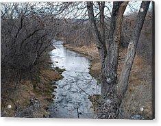 Santa Fe River Acrylic Print by Rob Hans