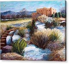Santa Fe Spring Acrylic Print by Candy Mayer