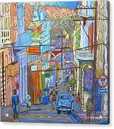 Santiago De Cuba Acrylic Print by Rae  Smith PSC