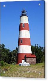 Sapelo Island Lighthouse Acrylic Print by Laurie Perry