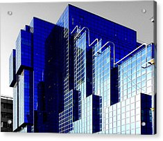 Buildings Acrylic Print featuring the photograph Sapphire by Roberto Alamino