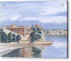 Sattaein Jo Aastan Acrylic Print by Sajjad Musavi
