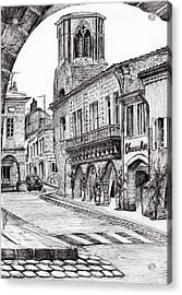 Sauveterre Acrylic Print by Vincent Alexander Booth