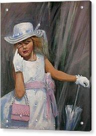Savannah Acrylic Print by Tom Shropshire