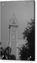Save The Clock Tower Acrylic Print by Rob Hans