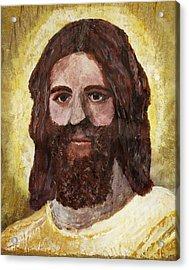 Savior Acrylic Print by April Harker