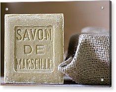 Savon De Marseille Acrylic Print by Frank Tschakert